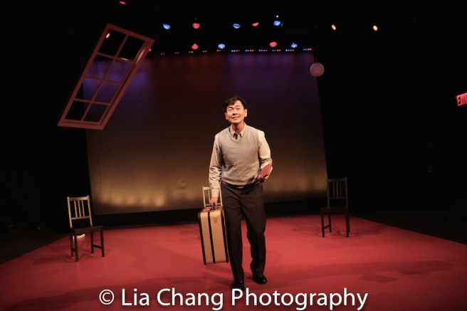 "Joel de la Fuente stars in TheatreWorks Silicon Valley's 2018/2019 season opener, the regional premiere of Jeanne Sakata's ""Hold These Truths."" Inspired by the life of Gordon Hirabayashi, ""Hold These Truths,"" directed by Lisa Rothe, plays July 11-Aug. 5 at the Lucie Stern Theatre in Palo Alto. Photo by Lia Chang"
