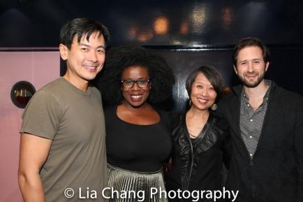 Joel de la Fuente, Uzo Aduba, Jeanne Sakata and Jesse Liebman. Photo by Lia Chang
