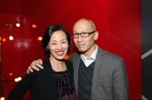 Lia Chang and Francis Jue. Photo by Garth Kravits