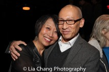 Jeanne Sakata and Francis Jue. Photo by Lia Chang