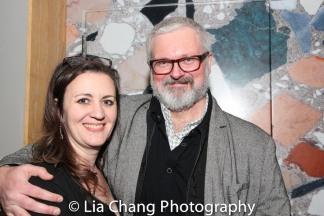 Lisa Rothe and John Ellison Conlee. Photo by Lia Chang.