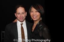Garth Kravits and Jeanne Sakata. Photo by Lia Chang