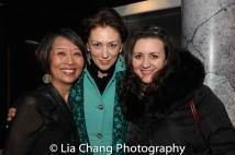 Jeanne Sakata, Vanessa Morosco and Lisa Rothe. Photo by Lia Chang