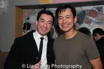 Johnny Wu and Joel de la Fuente. Photo by Lia Chang
