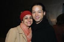 Nandita Shenoy and Jake Manabat. Photo by Lia Chang