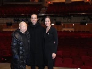 Lori Tan Chinn, Jake Manabat, Lia Chang. Photo by Garth Kravits
