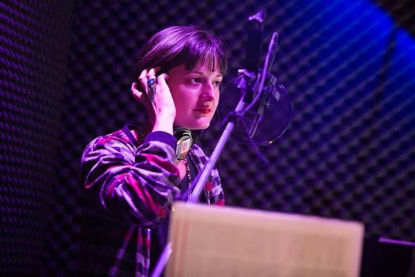 Sound Designer and Live Foley Artist Palmer Hefferan Photo by Jeremy Daniel Photography