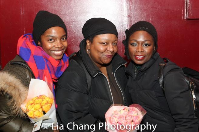 MaameYaa Boafo, Myra Lucretia Taylor and Zainab Jah. Photo by Lia Chang