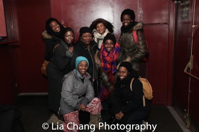 Abena Mensah-Bonsu, Zainab Jah, Mirirai Sithole, Myra Lucretia Taylor, Nabiyah Be, MaameYaa Boafo, Paige Gilbert, Nike Kadri. Photo by Lia Chang
