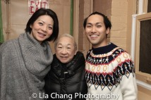 Celeste Den, Lori Tan Chinn, Jin Ha. Photo by Lia Chang