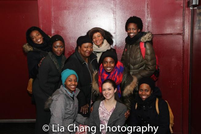 Abena Mensah-Bonsu, Zainab Jah, Mirirai Sithole, Myra Lucretia Taylor, Nabiyah Be, MaameYaa Boafo, Laura Wilson, Paige Gilbert, Nike Kadri. Photo by Lia Chang