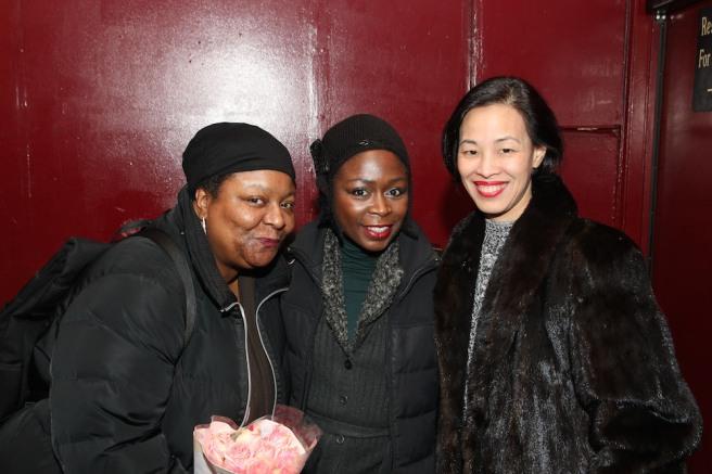 Myra Lucretia Taylor, Zainab Jah and Lia Chang. Photo by Garth Kravits