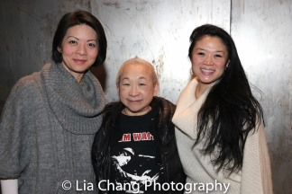 Celeste Den, Lori Tan Chinn and Kristen Faith Oei. Photo by Lia Chang