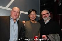 Glenn Fleshler, Joel de la Fuente, John Ellison Conlee. Photo by Lia Chang