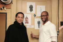 Jake Manabat and Emmanuel Brown. Photo by Lia Chang