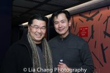 Christopheren Nomura and Joel de la Fuente. Photo by Lia Chang