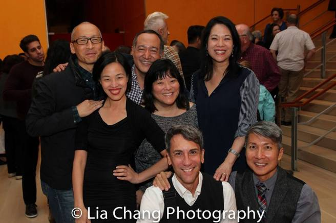 Francis Jue, Lia Chang, Alan Muraoka, Ann Harada, Robert Sella, Christine Toy Johnson and Jason Ma. Photo by Daniel J. Edwards