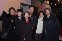 Jeanne Sakata, Joel de la Fuente, Tamlyn Tomita, Melissa de la Fuente. Photo by Lia Chang