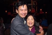 Joel de la Fuente and Emily Kuroda. Photo by Lia Chang