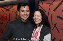 Joel de la Fuente and Giovanna Sardelli. Photo by Lia Chang