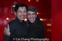 Joel de la Fuente and Robert Sella. Photo by Lia Chang