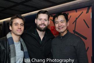 Luke Kleintank and Joel de la Fuente. Photo by Lia Chang