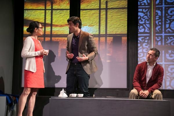 Lydia Gaston, Pun Bandhu and Alan Ariano. Photo Credit: Ben Hider
