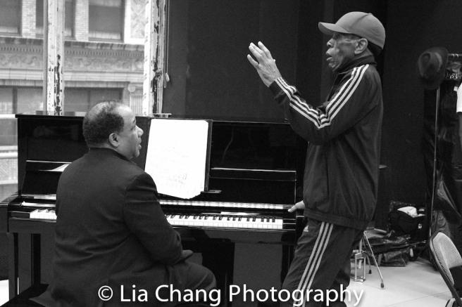 David Alan Bunn and André De Shields. Photo by Lia Chang
