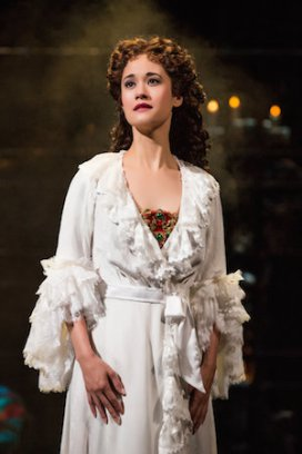 Ali Ewoldt as Christine Daaé. Photo by Matthew Murphy