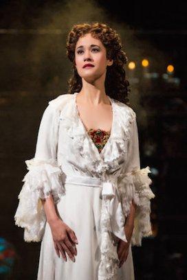 Ali Ewoldt as Christine Daaé. Photo by Matthew Murphy
