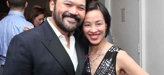 Orville Mendoza and Lia Chang. Photo by Garth Kravits
