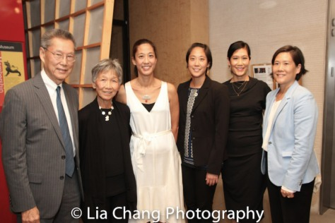 Thomas Sung, Hwei Lin Sung, Heather Sung, Chanterelle Sung, Vera Sung and Jill Sung. Photo by Lia Chang