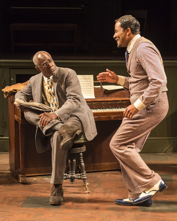 Glynn Turman and Jason Dirden Photo by Craig Schwartz