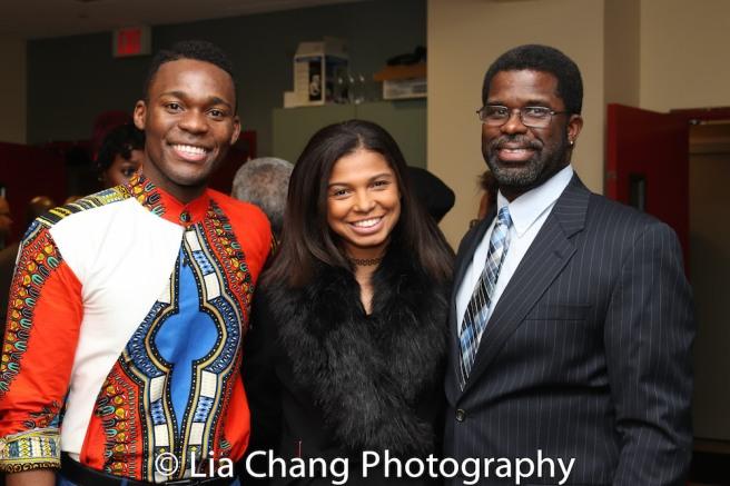 Borris York, Sienna Jones and Marshall Jones, III. Photo by Lia Chang