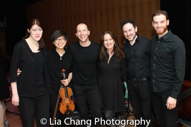Jennifer Shaw, Emily Chiu, Charlie Alterman, Mary Ann McSweeney, Mike Rosengarten and Spencer Inch. Photo by Lia Chang