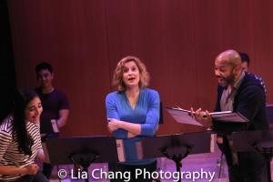 Krystina Alabado, Christiane Noll and Darius de Haas. Photo by Lia Chang