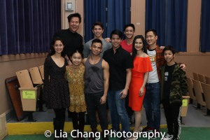 Front Row: Ali Ewoldt, Rika Nishikawa, Jason Garcia Ignacio, Telly Leung, YoonJeong Seong, Daniel May and Kai Rivera. Back Row: Kelvin Moon Loh, Sam Tanabe, Hansel Tan. Photo by Lia Chang