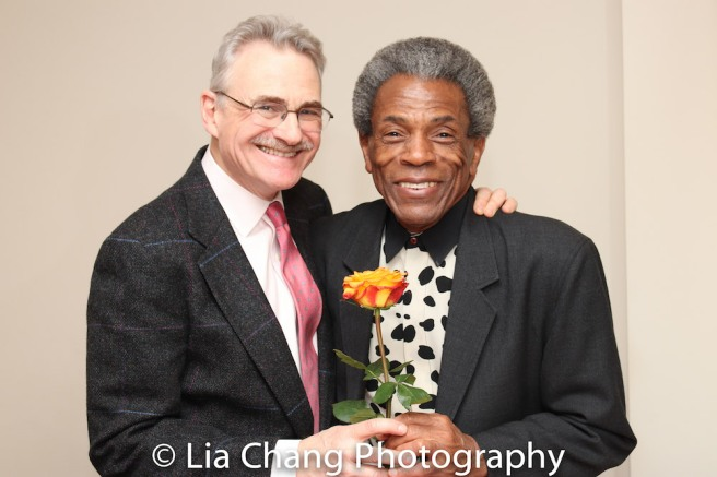 Murray Horwitz and André De Shields. Photo by Lia Chang