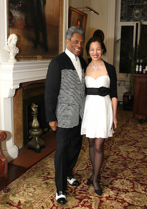 André De Shields and Lia Chang. Photo by Barry Gordon