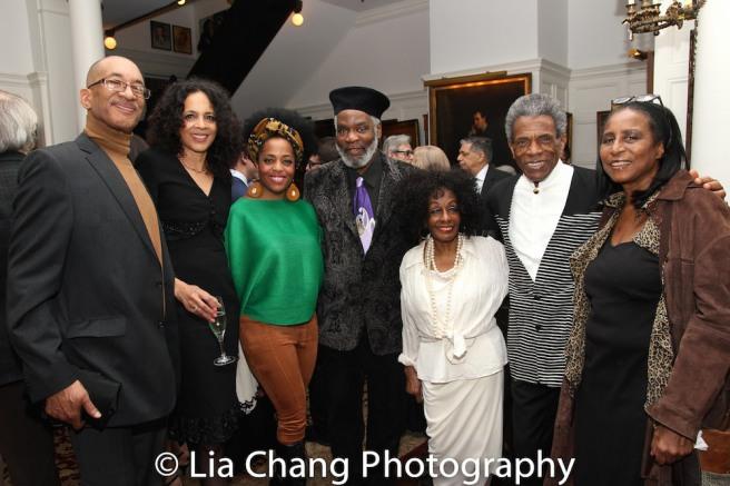 Rhonda Ross, Rome Neal, Honoree Vinie Burrows, André De Shields. Photo by Lia Chang