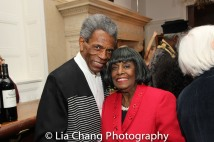 André De Shields and Grace Jones. Photo by Lia Chang