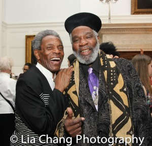 André De Shields and Rome Neal. Photo by Lia Chang