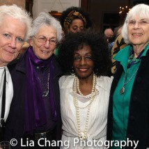 Honoree Vinie Burrows and guests. Photo by Lia Chang