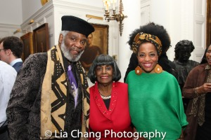 Rome Neal, Grace Jones, Rhonda Ross. Photo by Lia Chang