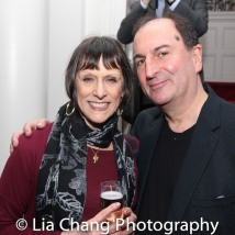 Larry Spivack and his wife, Rise Clemmers. Photo by Lia Chang