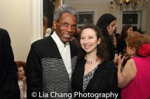 André De Shields and Abigail Katz. Photo by Lia Chang