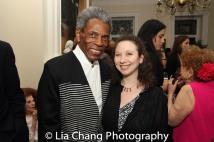 André De Shields and Abigail Katz. Photo by Lia Chang