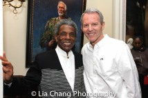 André De Shields and Stephen Bogardus. Photo by Lia Chang