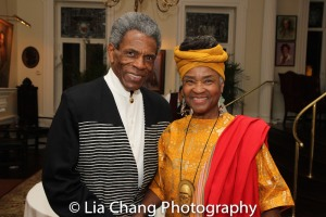 André De Shields and J.E. Franklin. Photo by Lia Chang