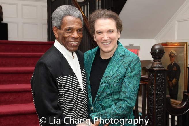 André De Shields and Charles Busch. Photo by Lia Chang
